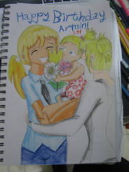 Happy Birthday Armin! by EnvitChan