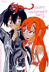 Kiruna Valentine's Day Card by EnvitChan