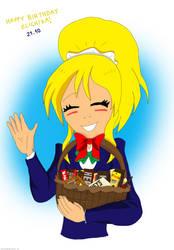 Happy Birthday Elichika! by EnvitChan