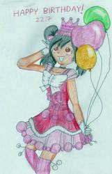 Happy Birthday Nico! by EnvitChan