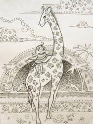 giraffe by TanyG