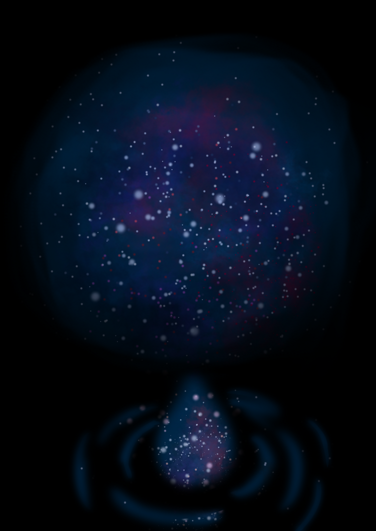 A Drop Of Galaxy by darkness1247