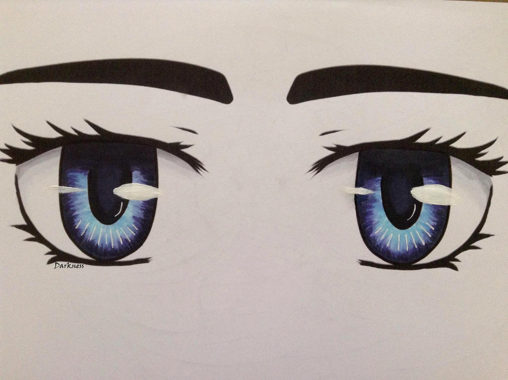 [Practice] Eyes by darkness1247
