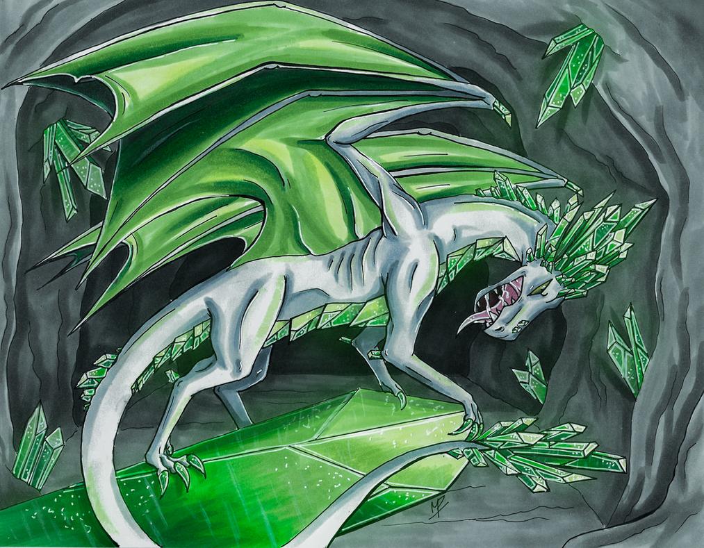 The Topaz Dragon by Alaycii on DeviantArt