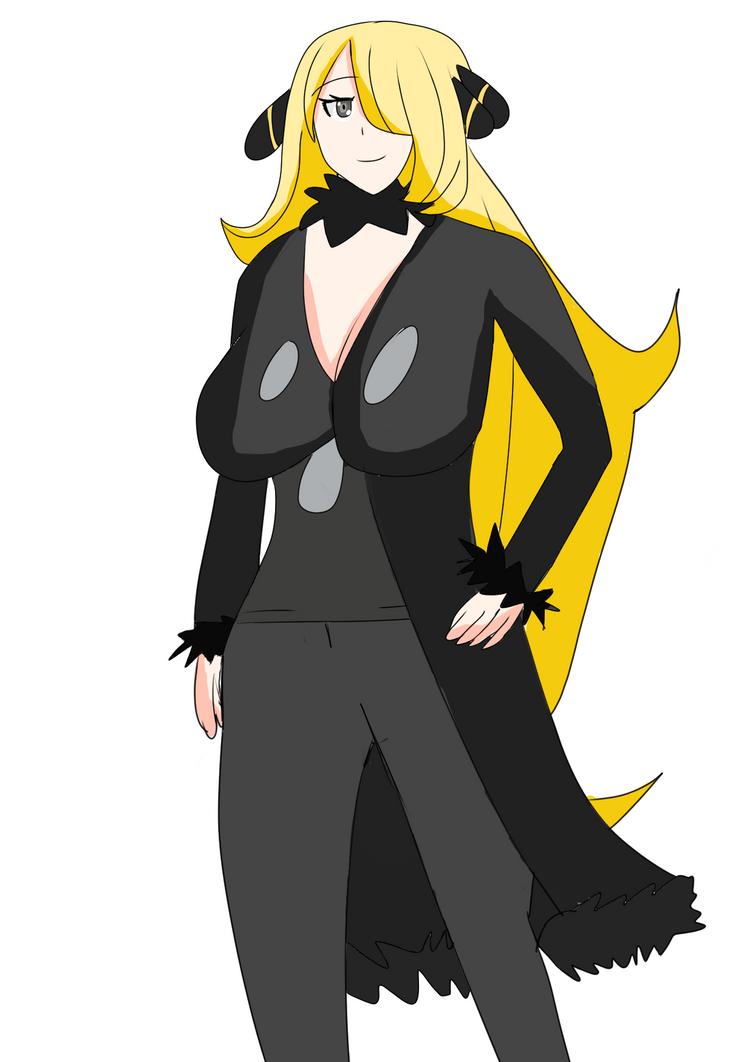 Cynthina from pokemon by Shinyguy909