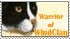 Windclan warrior stamp by Lithestep