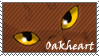 Oakheart stamp by Lithestep