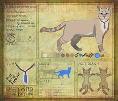 [BtS] Dusk that falls quickly ref sheet by Lithestep