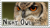 Night Owl Stamp by Lithestep