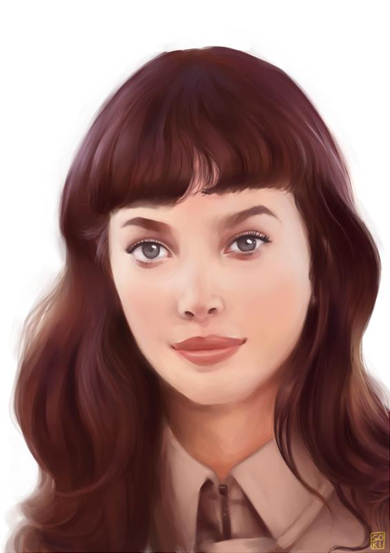 Portrait Study I by Gokinka