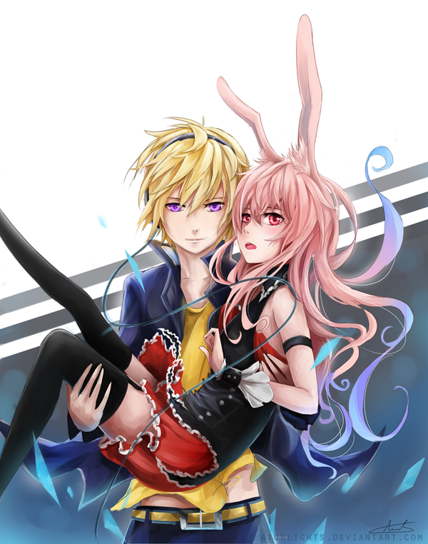 Izayoi and black rabbit