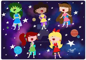 Chibi Galaxy Stars
