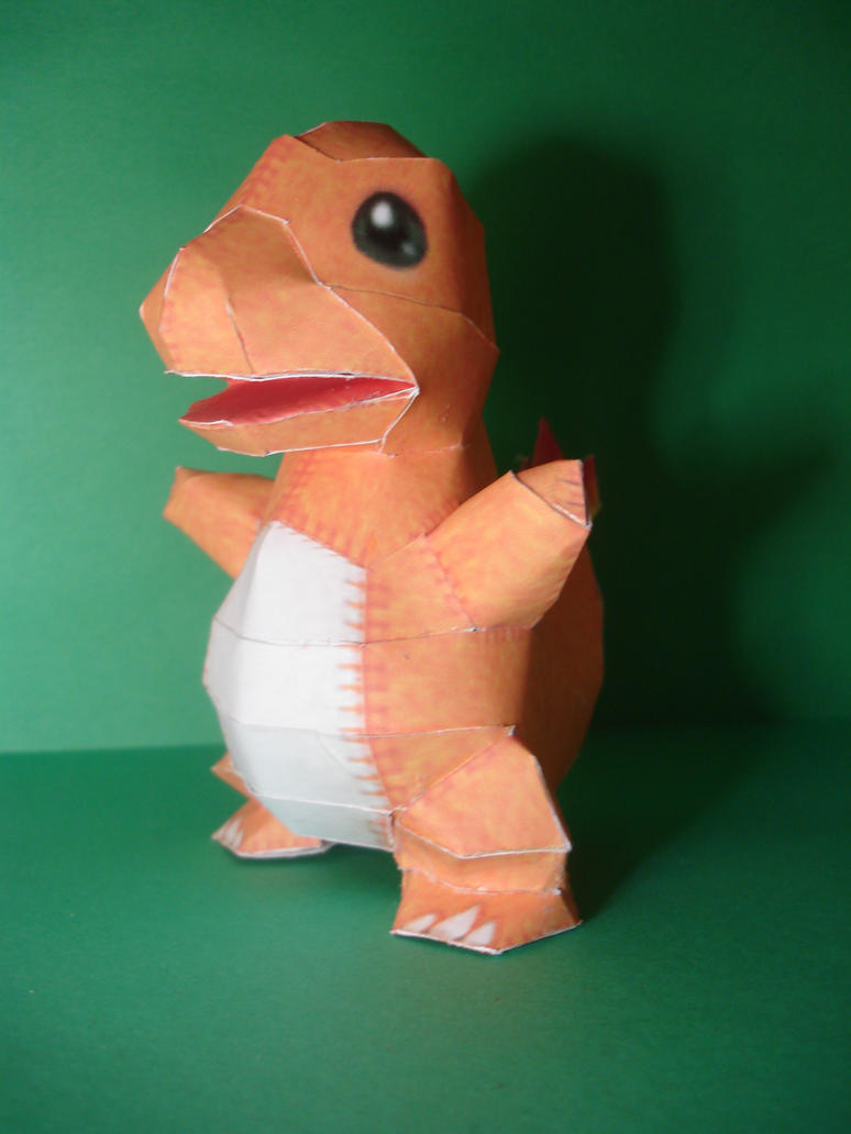 Charmander Pokedoll by ROBOT75