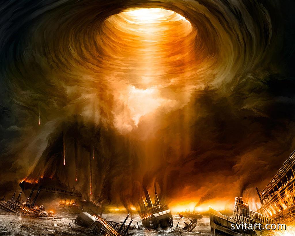 Delphian Calamity Wallpaper by seniortwinkie