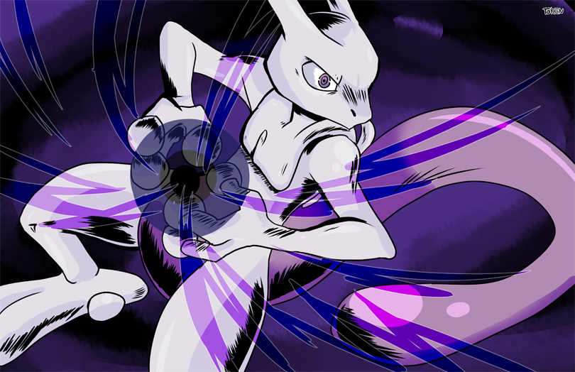Mewtwo by TokenDuelist