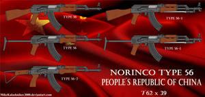 Chinese Norinco Type 56 rifle family
