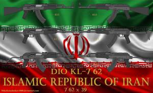 Iranian DIO KL-762 rifle family by MikeKalashnikov3000