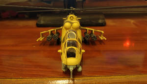 Mil Mi-24 V Hind-E (front view)