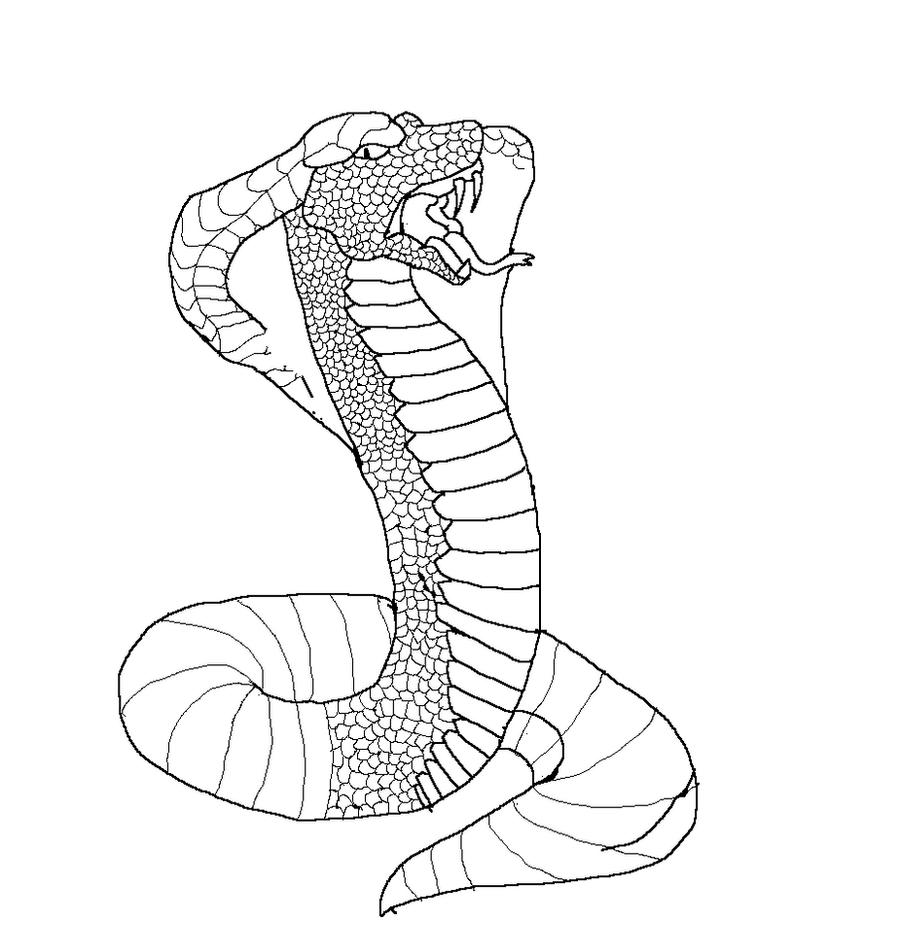 Line Art Snake : Snake lineart by oo elie on deviantart