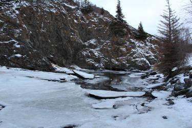 Alaska Stock, McHugh Creek 1 by audreystocks