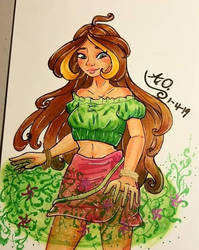 Fairy of Nature  by 1angel0wings1