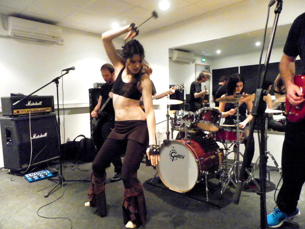 Thanatic Eyes - Studio Rehearsal [1/6] by LadyAzurFromAlkemya