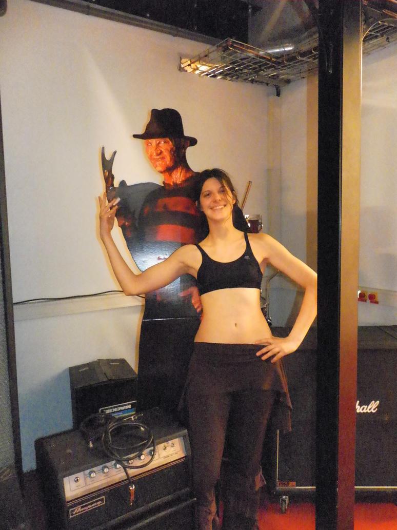 Freddy Krueger - Studio Rehearsal by LadyAzurFromAlkemya
