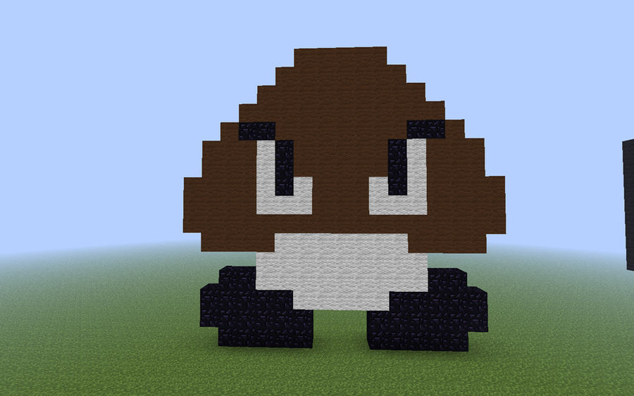 Goomba Pixel Art By Geminis240 On Deviantart