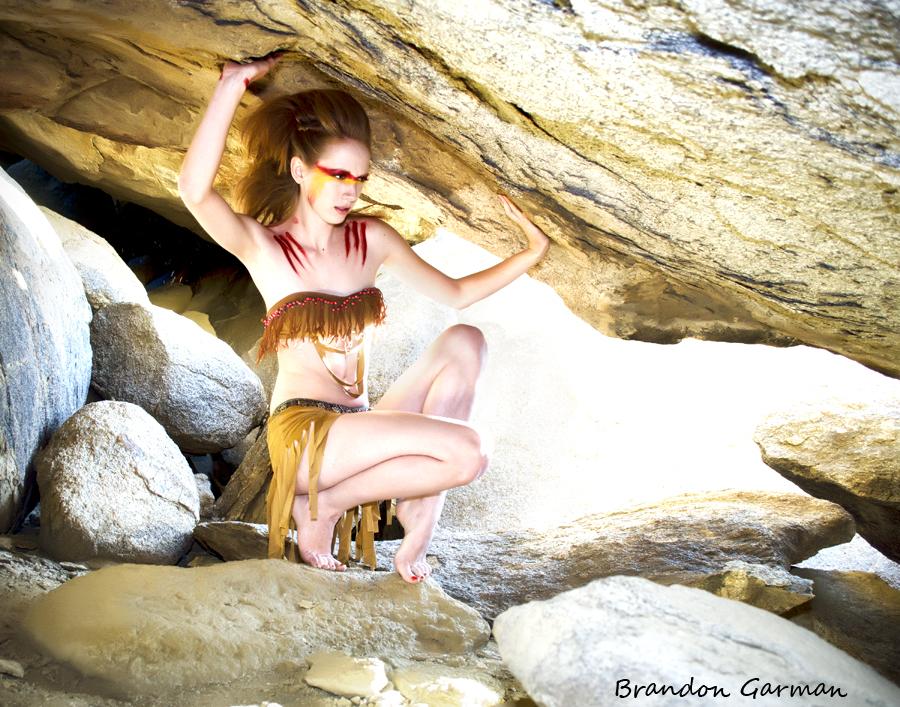 Indian Phoenix women warrior by rockerbmg666