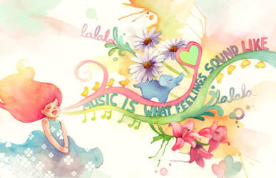 Music is.. by elisetrinh