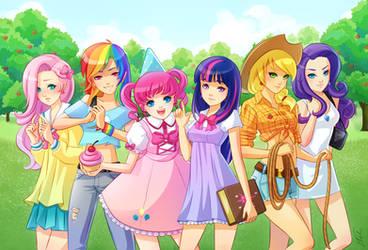 Equestria Girls by elisetrinh