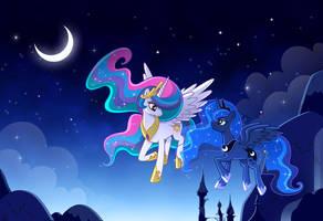 El Sol y la Luna by elisetrinh