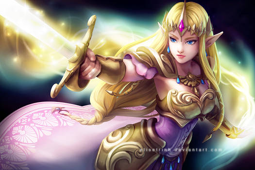 Hyrule Warriors - Princess Zelda
