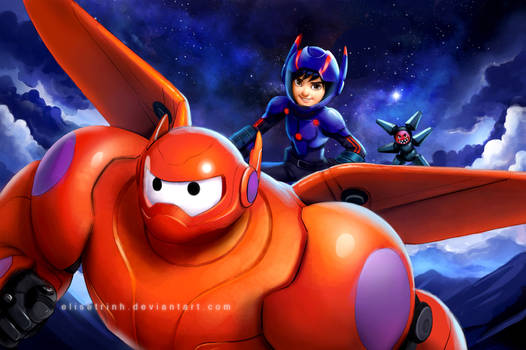 Big Hero 6 - Flying High