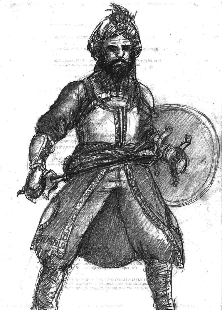 Sikh Warrior by TheLivingShadow on DeviantArt