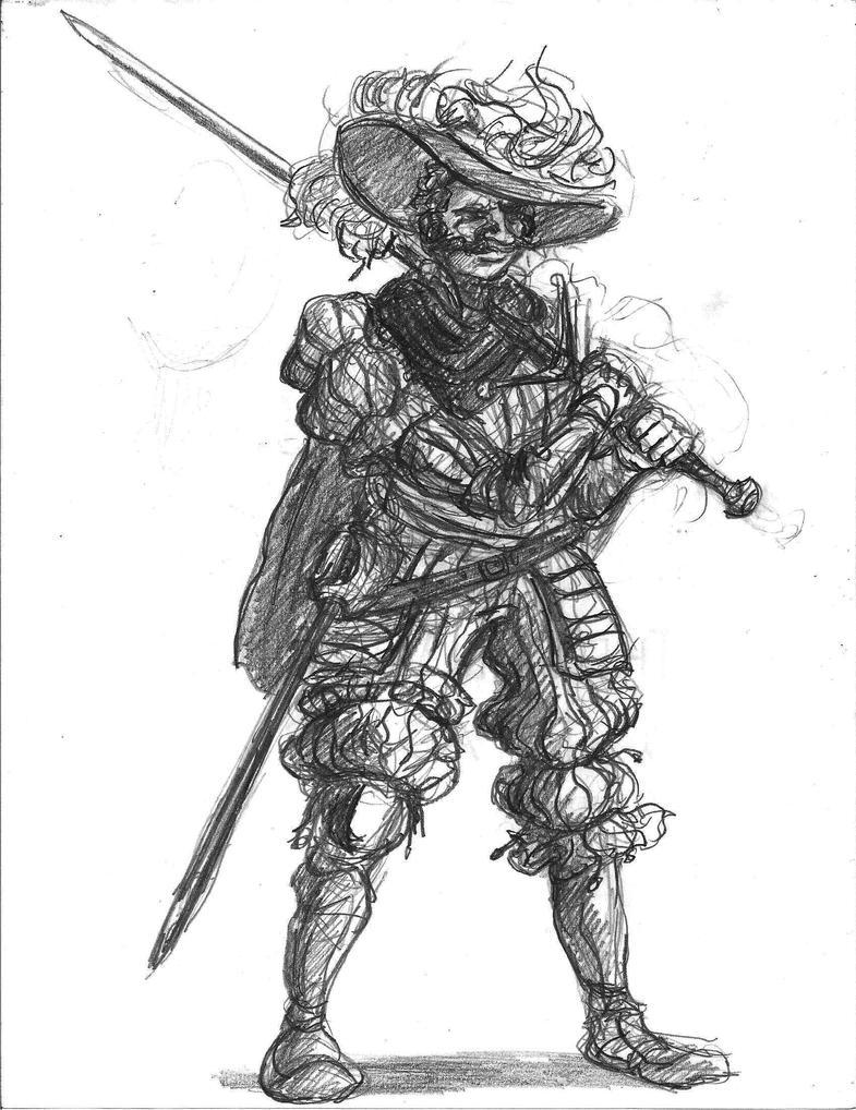 presentacion Landsknecht___sketch_by_thelivingshadow-d521akw