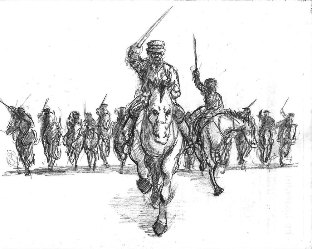 British Cavalry Charge