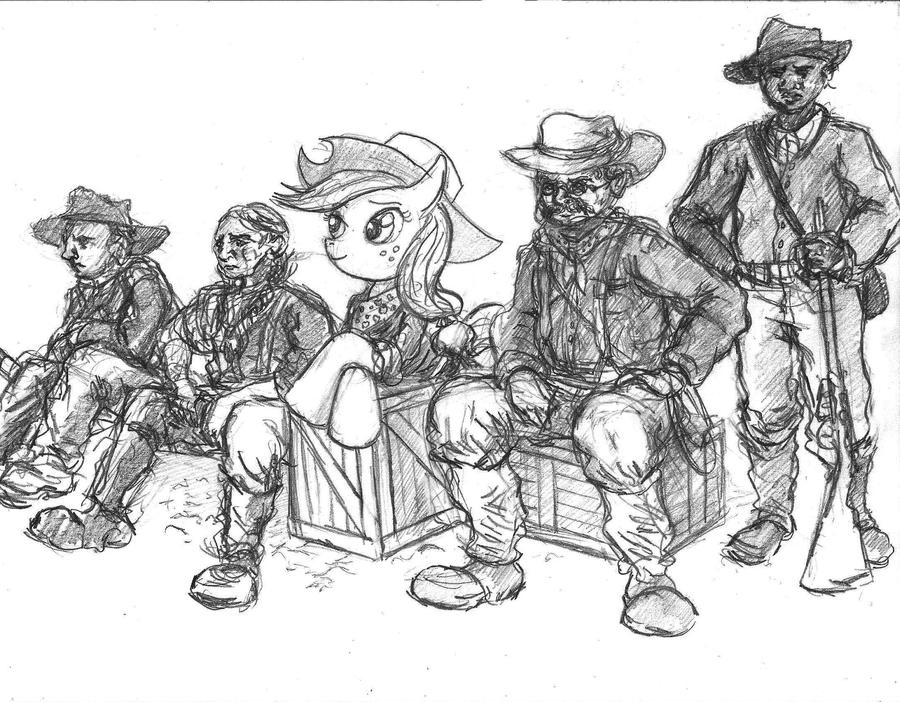 The Rough Riders by TheLivingShadow