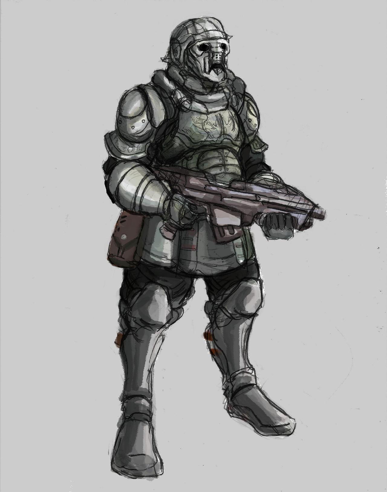 Futuristic Legionnaire 02