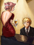 Naruto and Sakura: Night of Wine and Roses