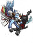 Rainbow Dash - Assassins Creed