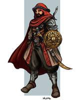 Tariq al-Ziyad by TheLivingShadow