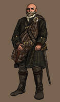 Scottish Highlander by TheLivingShadow
