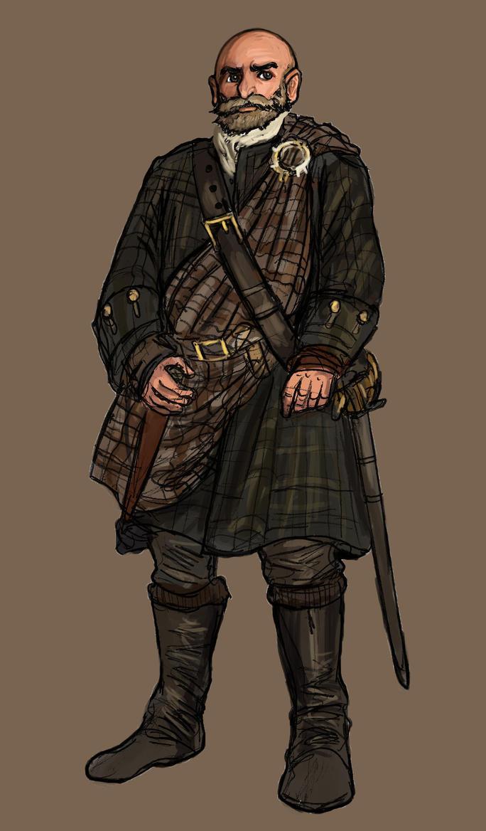 Scottish Highlander by TheLivingShadow on DeviantArt