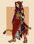 Character Design - Daud