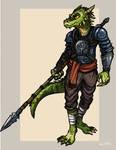 Argonian Lancer