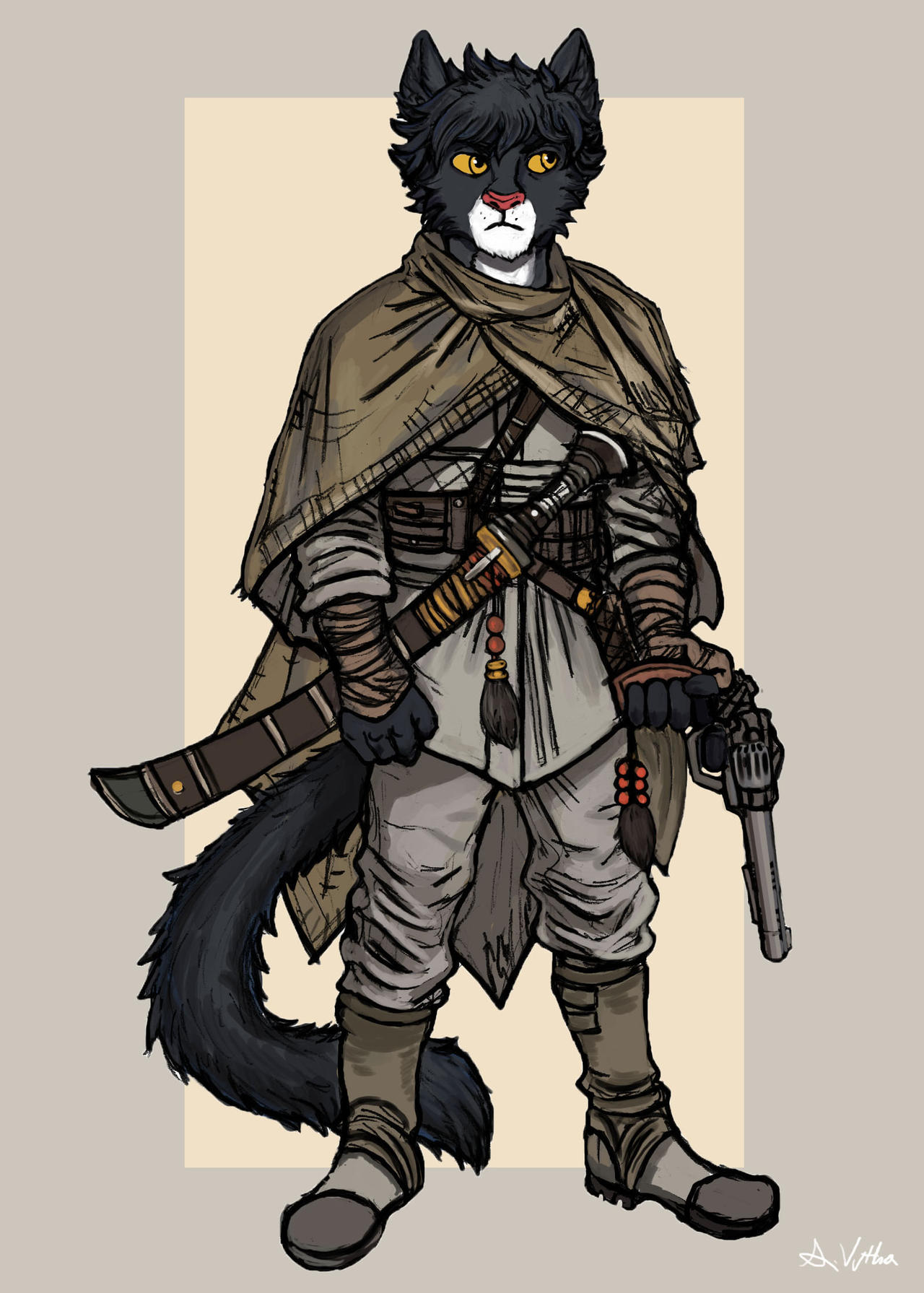 anthro wolf wallpaper
