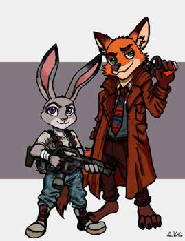 Judy and Nick - Ridley Scott Tribute