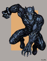 Black Panther by TheLivingShadow