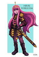 Princess Bubblegum Lannister by TheLivingShadow